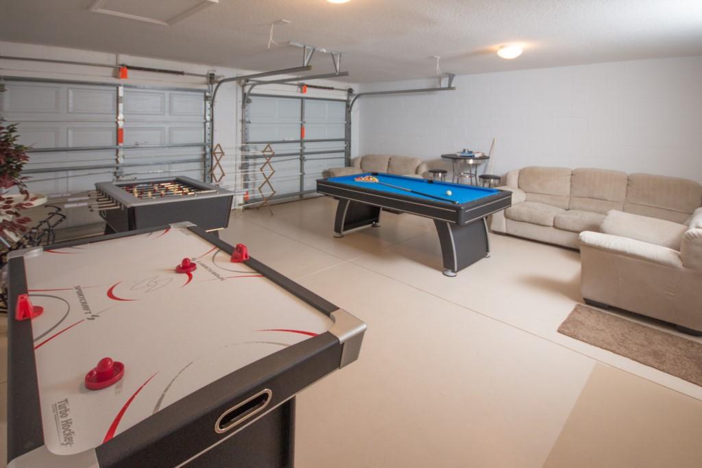 Games Room - Air Hockey