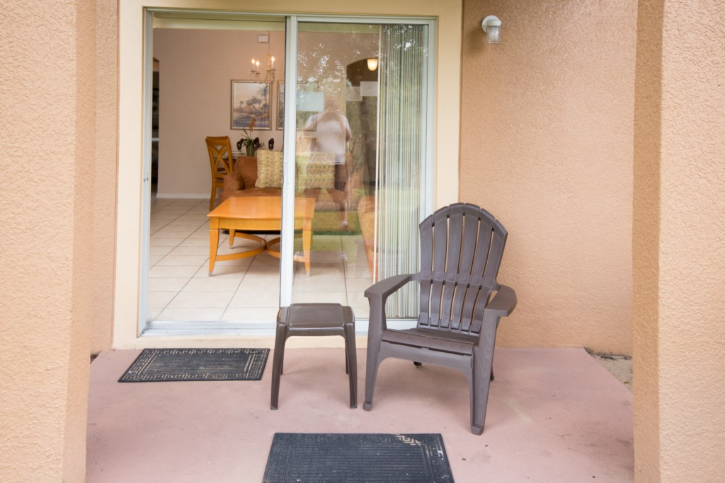 Patio Area W/Chair