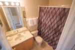 3rd Bathroom - Shower/Tub Combination & Toilet