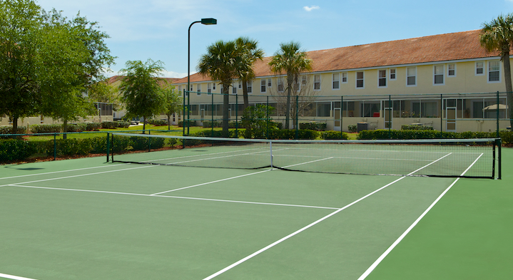 Fiesta Key - Community Tennis Court