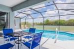 Heavenly Venture - Covered Lanai & Pool (1)