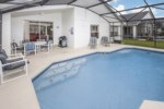 Pool Area Table/Chairs & Sunloungers