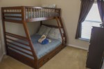 3rd Bedroom - 1 Full - 1 Twin Bed