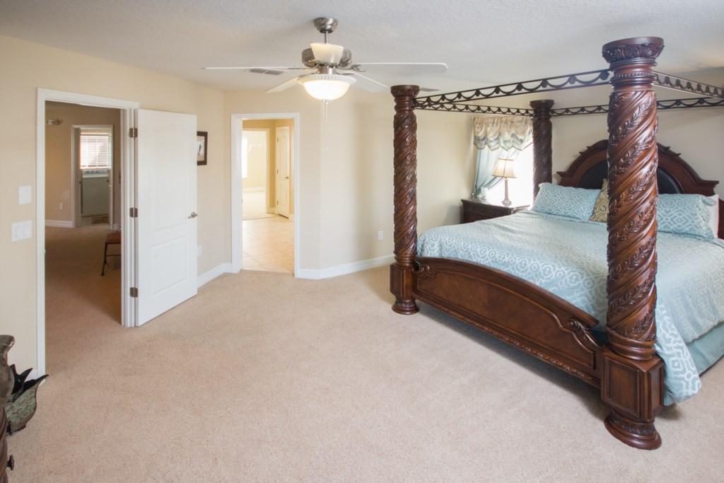 Master Bedroom Viiew 2