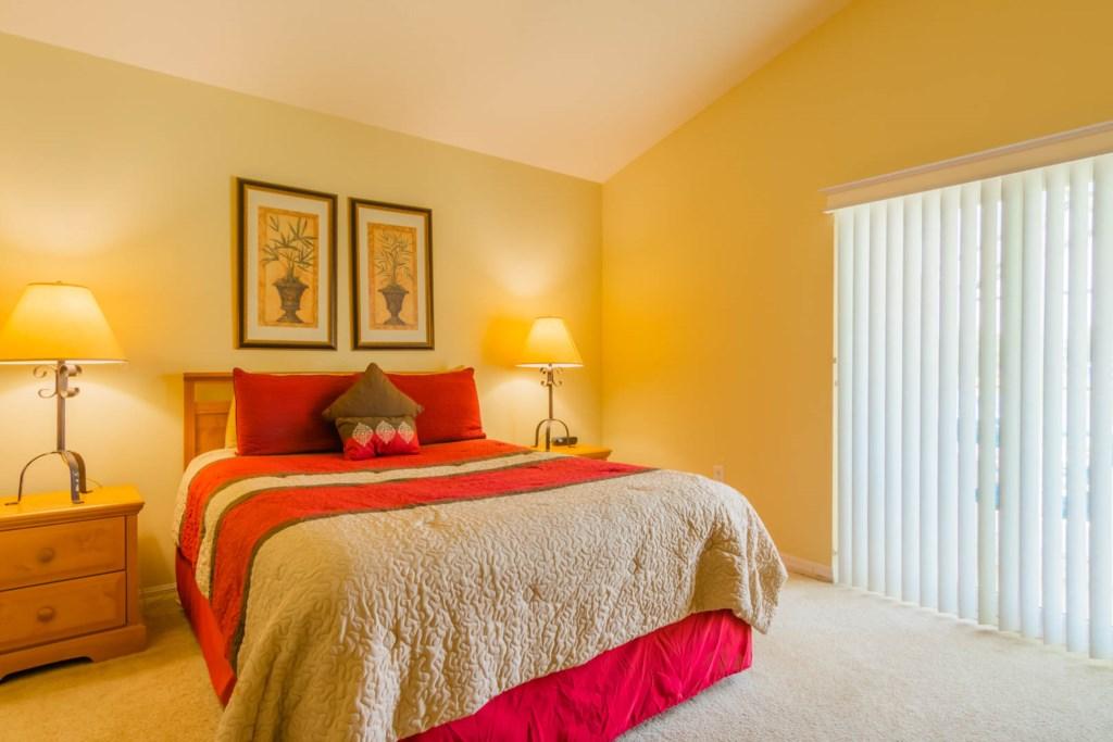 Mark's Sunrise Lakes Villa - Master Bedroom 2 w/ Queen Bed