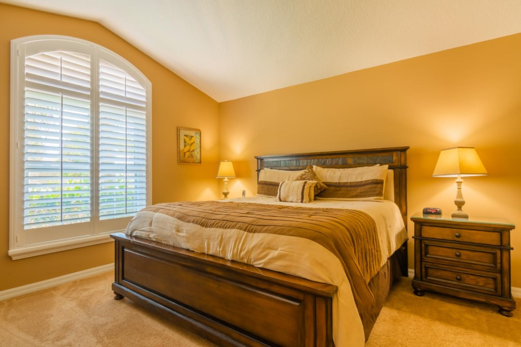 Mark's Sunrise Lakes Villa - Master Bedroom 1 w/ King Bed