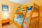 Mark's Sunrise Lakes Villa - Bedroom 4 w/ Bunk Beds (Full Bed & Twin Bed)