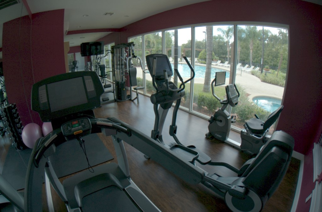 Exercize room