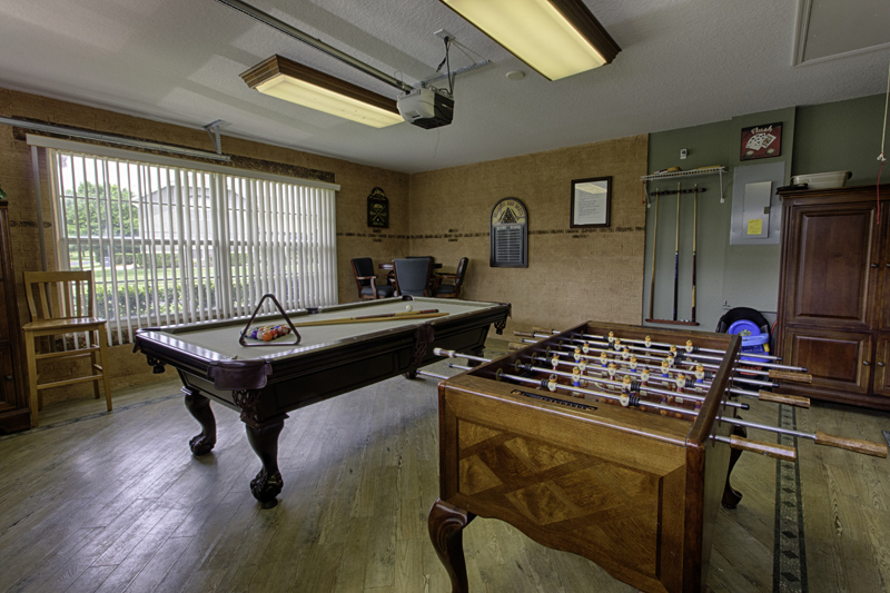Pool Table, Fusball Table