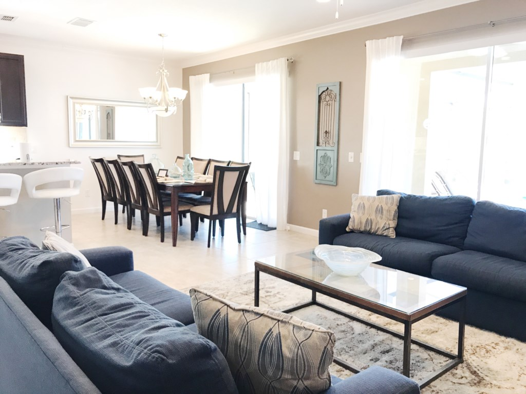 More Living Room and Dining Room Views