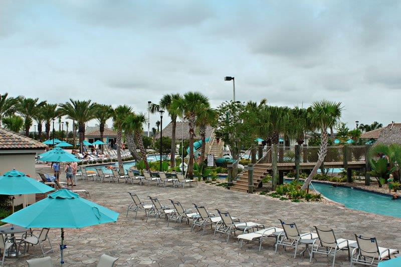 Overall look of pool area