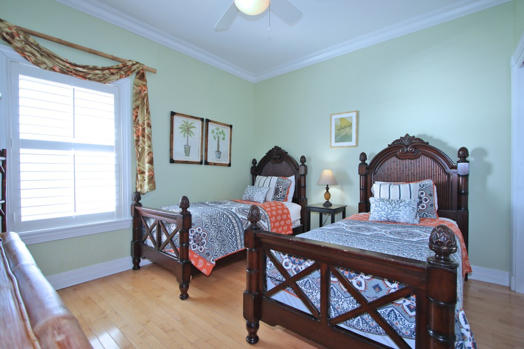 Twin Beds - Third Floor