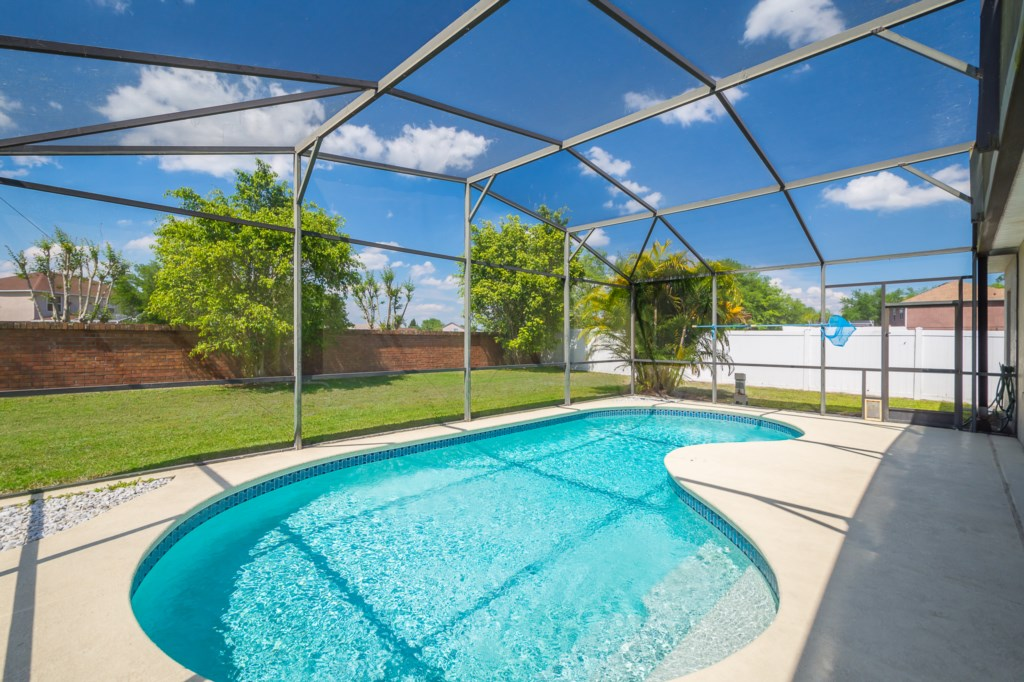 Private Pool NOT Overlooked