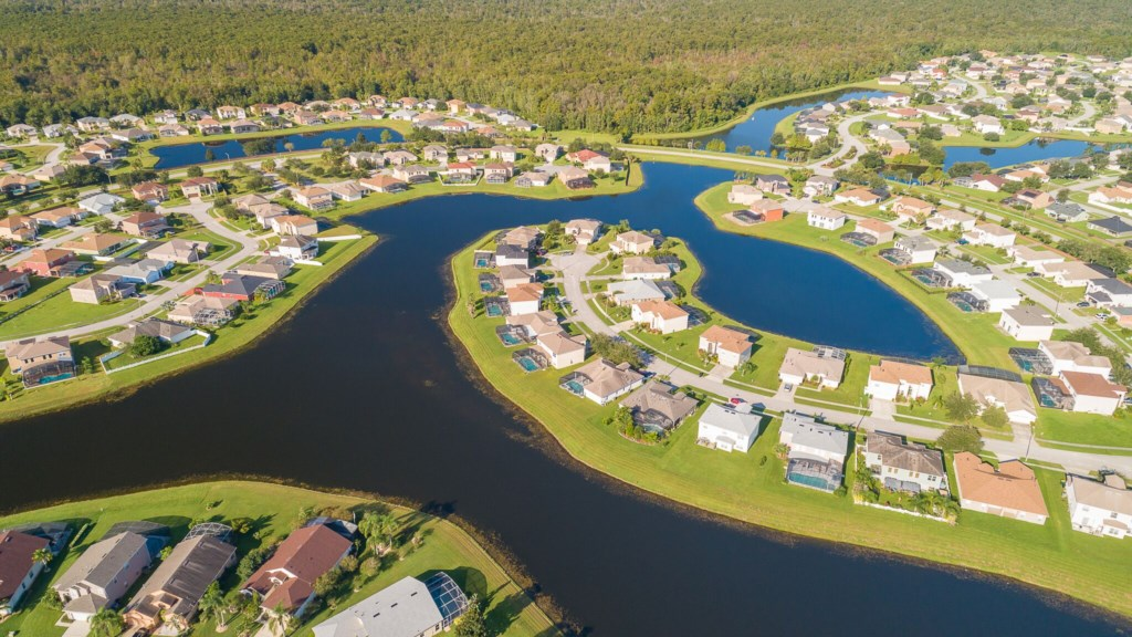 Crescent Lakes Community with Fishing Ponds (Catch/Release Policy)