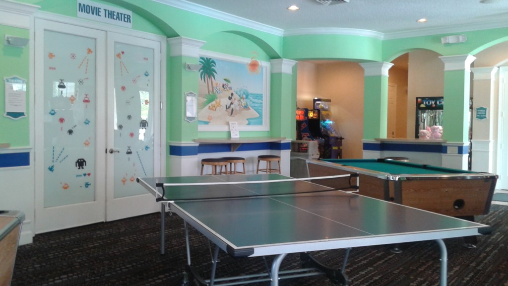 Gameroom in Clubhouse