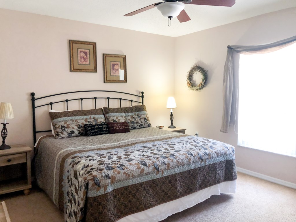 First Bedroom is a King Master Bedroom