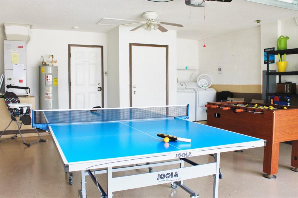 LARGE Ping Pong/ Table Tennis! Fooseball! Darts!