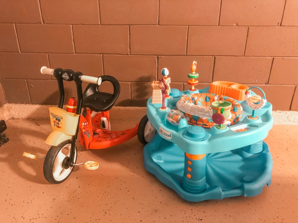 Child Friendly Items! Child's Bike and Activity Center!