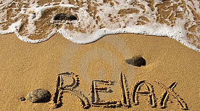 Relax-written-in-the-Sand