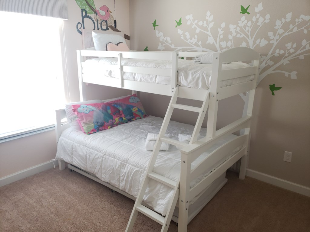 2st FloorBunkbed, Single, Full, Single