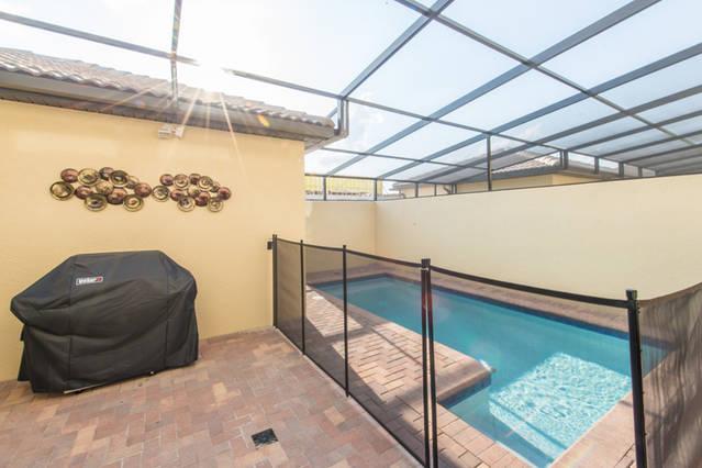 Pool / BBQ Area