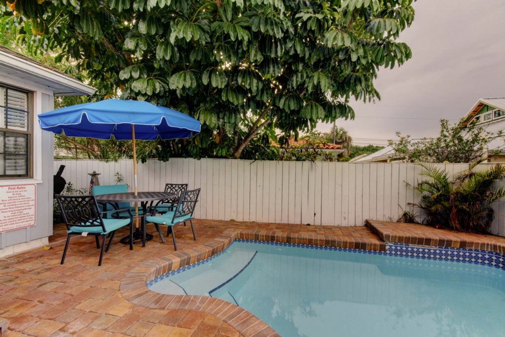 Clearwater Beach Private Pool Vacation Rental
