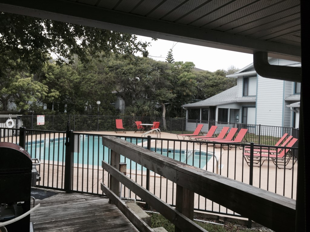 Pool access from your private deck