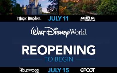 Walt Disney World Orlando Reopening Plans