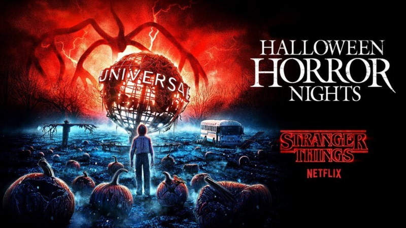 Universal Studios Florida Halloween Horror Nights featuring Stranger Things
