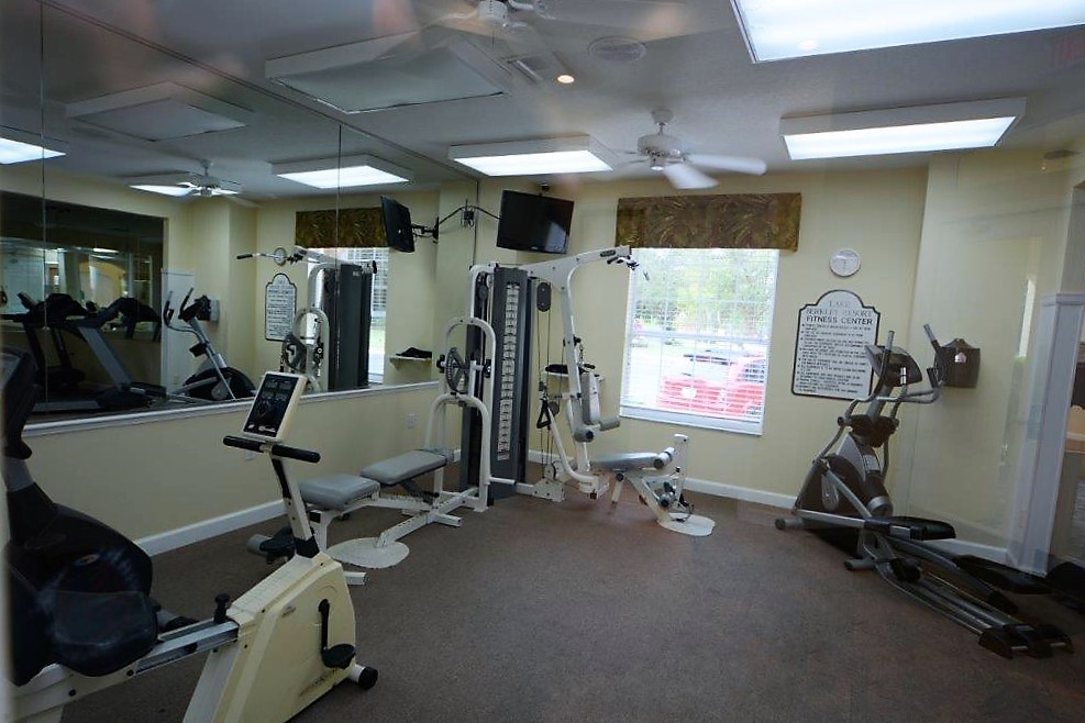 Lake Berkley Resort Public Weight Room
