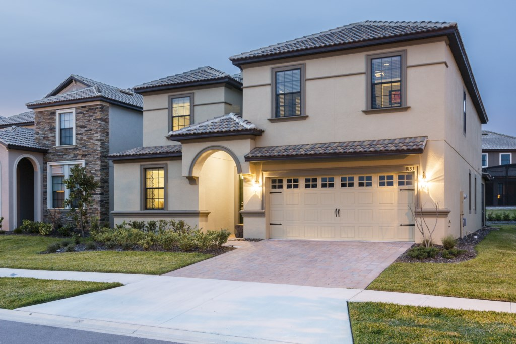 Championsgate Villas With 8 Bedrooms In Davenport Near