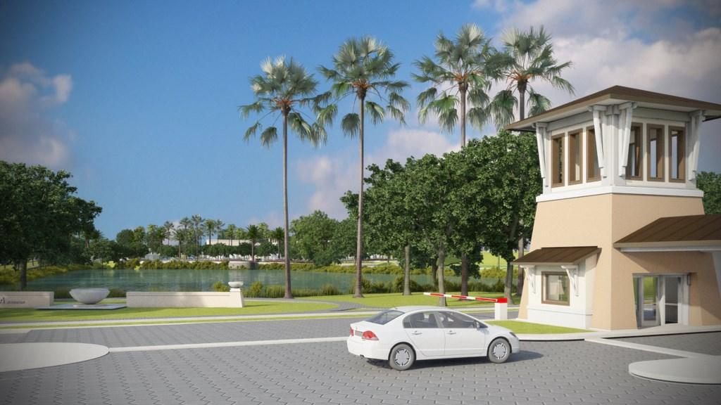Solara Resort gated entrance