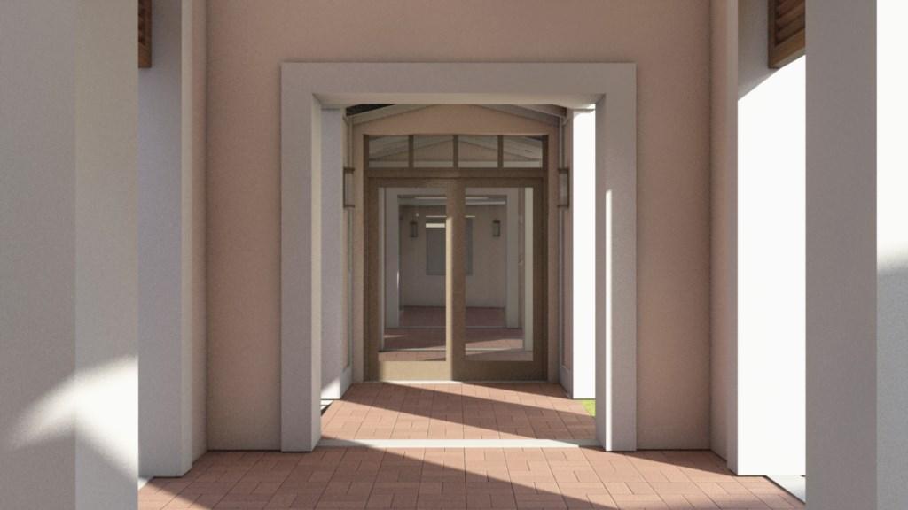 Solara Resort clubhouse entrance