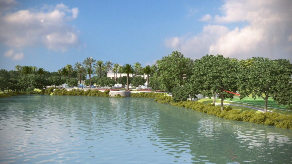 Solara Resort lake view