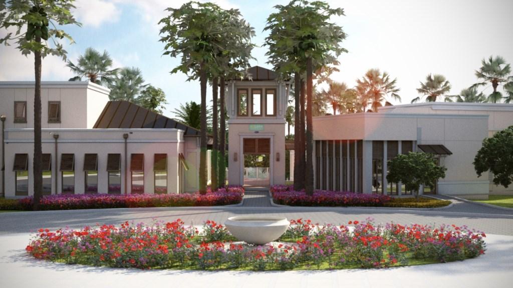 Solara Resort clubhouse exterior
