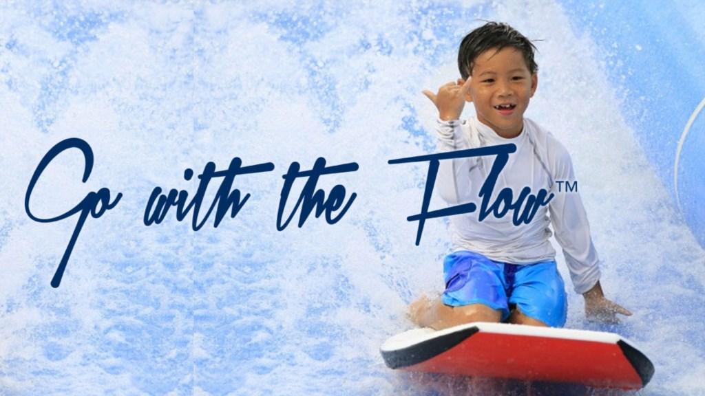 Flow-rider surfing
