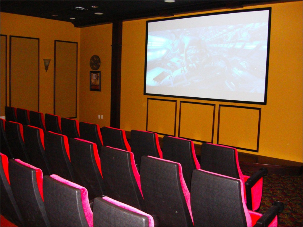 46 Seat Movie Theatre