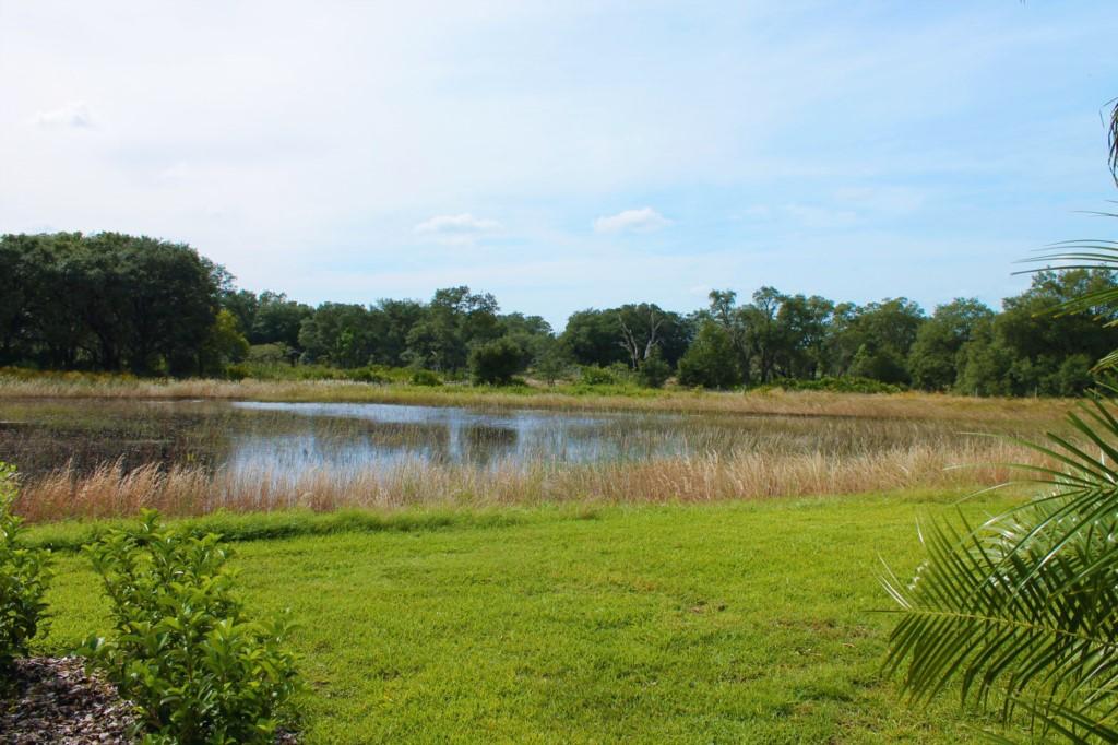 Beautiful south facing water view