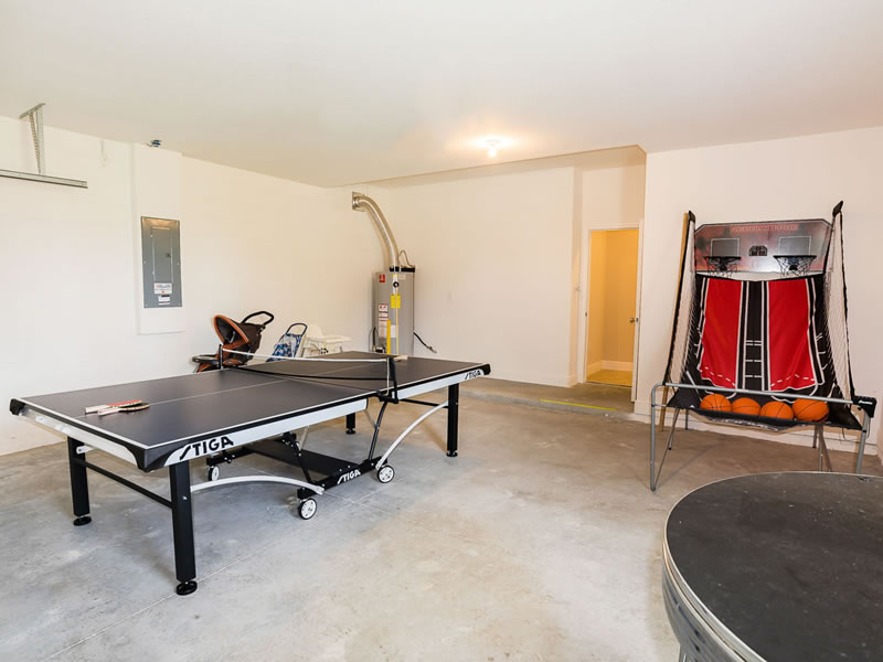 Yet another space the kids love - the Games Room! Ping Pong/Table Tennis and Basketball Game!