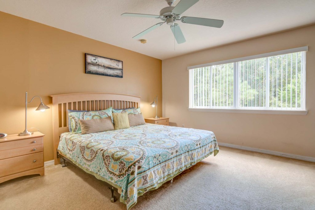 Karis' Sandy Ridge Villa - Master Bedroom 1 w/ King Bed (1)