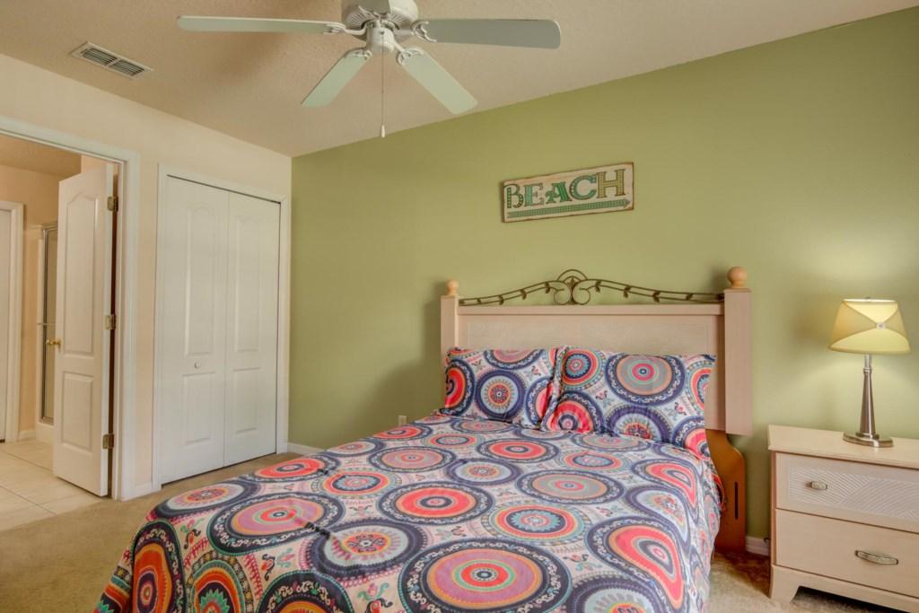 Karis' Sandy Ridge Villa - Bedroom 3 w/ Queen Bed (1)
