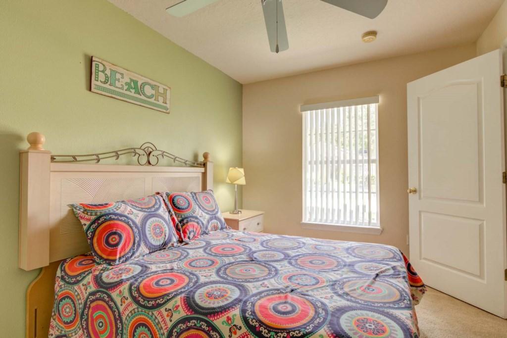 Karis' Sandy Ridge Villa - Bedroom 3 w/ Queen Bed (2)