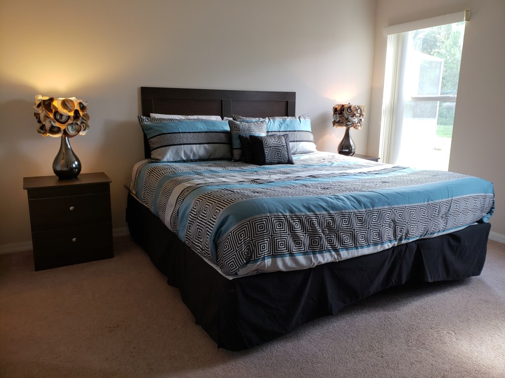 Master Bedroom - King Bed