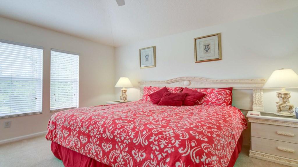 Marlene's Windsor Palms Resort Townhouse - Master Bedroom w/ King Room (1)