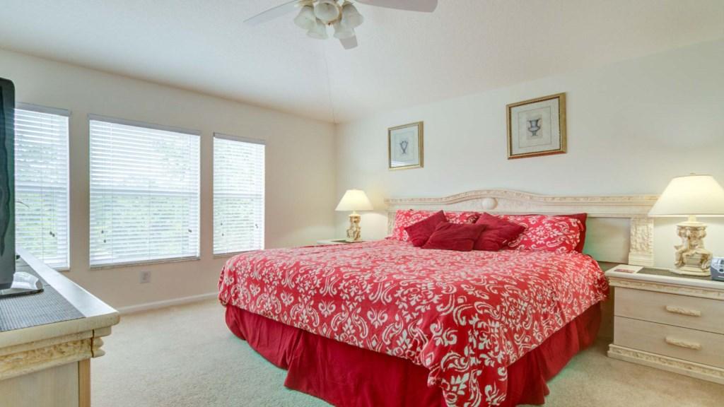 Marlene's Windsor Palms Resort Townhouse - Master Bedroom w/ King Room (2)