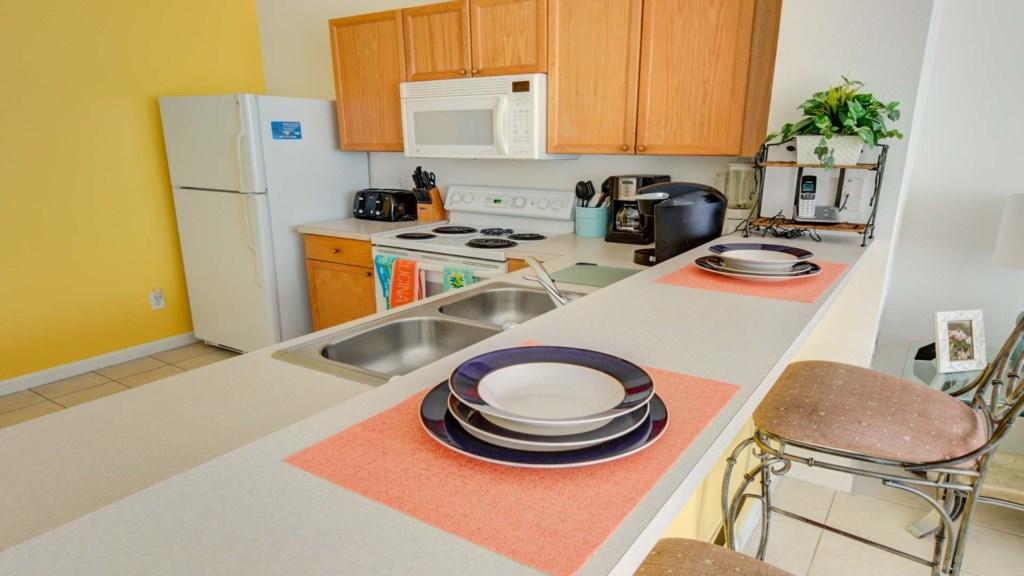 Marlene's Windsor Palms Resort Townhouse - Kitchen (2)