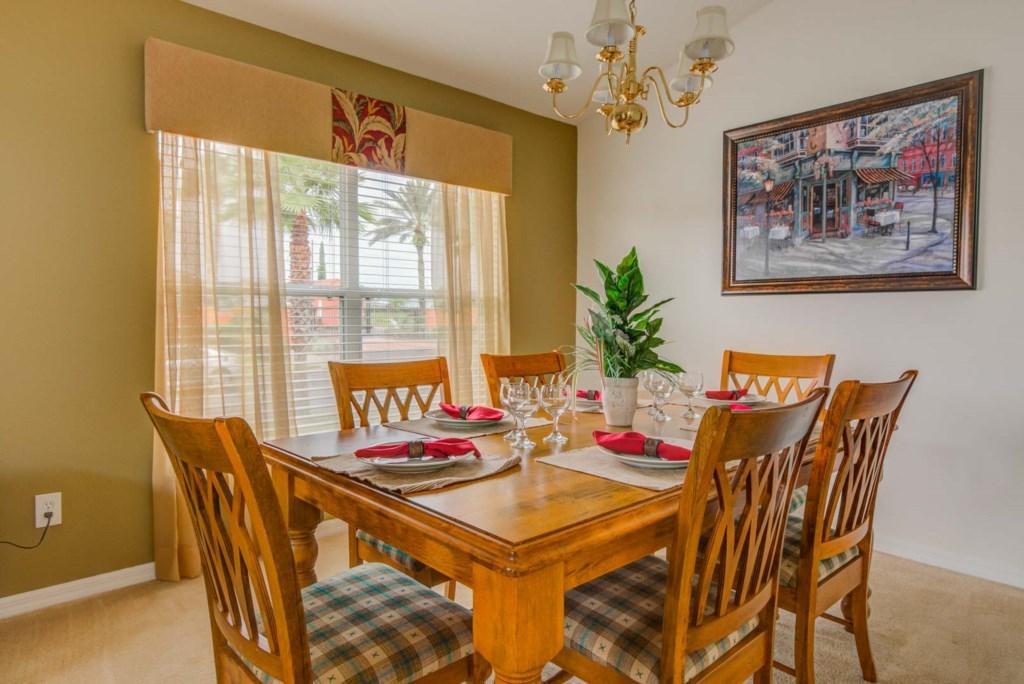 Robert's Solana Resort Villa - Dining Room