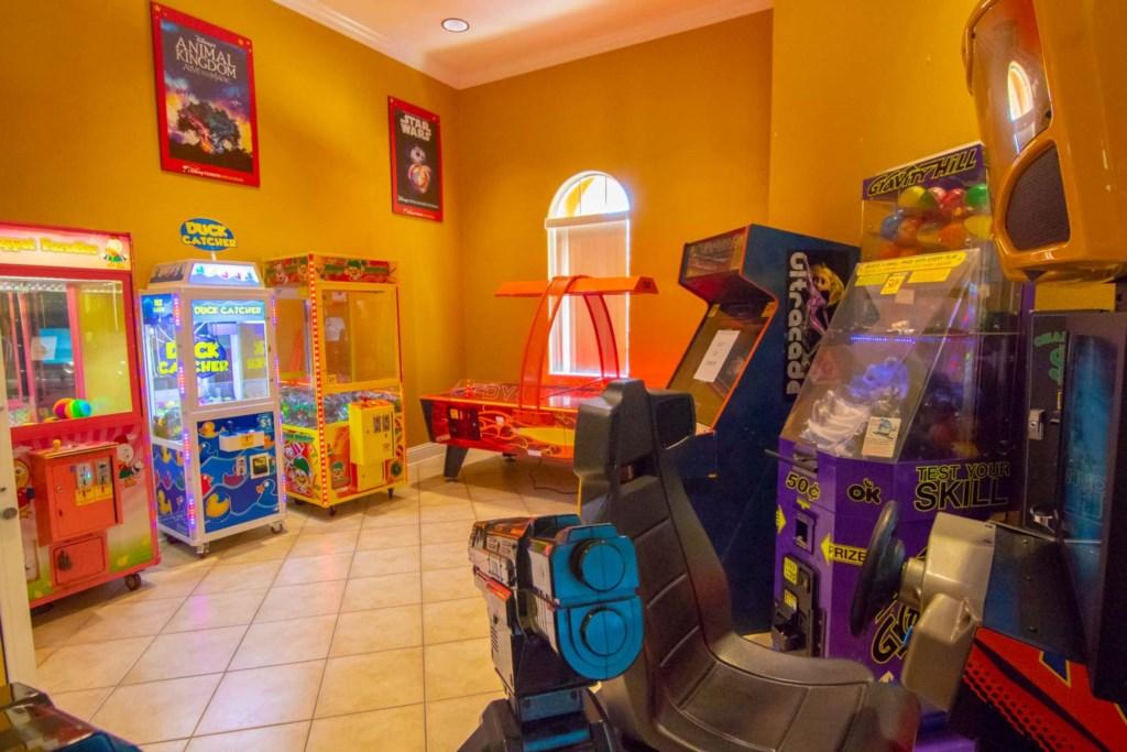 Solana Resort - Clubhouse Arcade