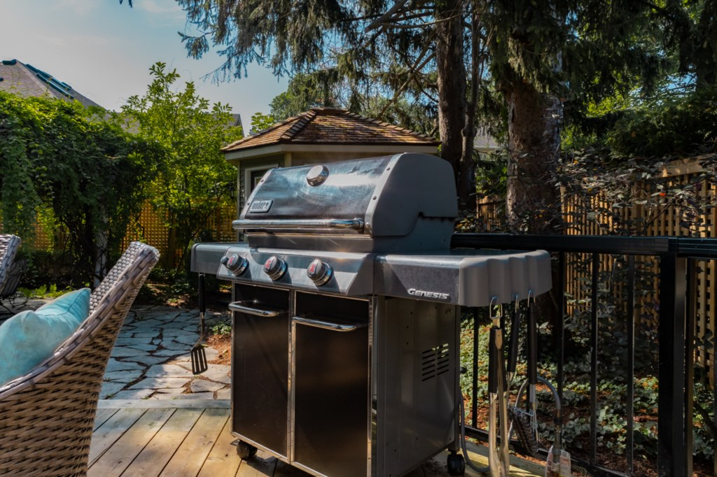 BBQ/grill - La Vignette Vacation Rental - Old Town - Niagara-on-the-Lake