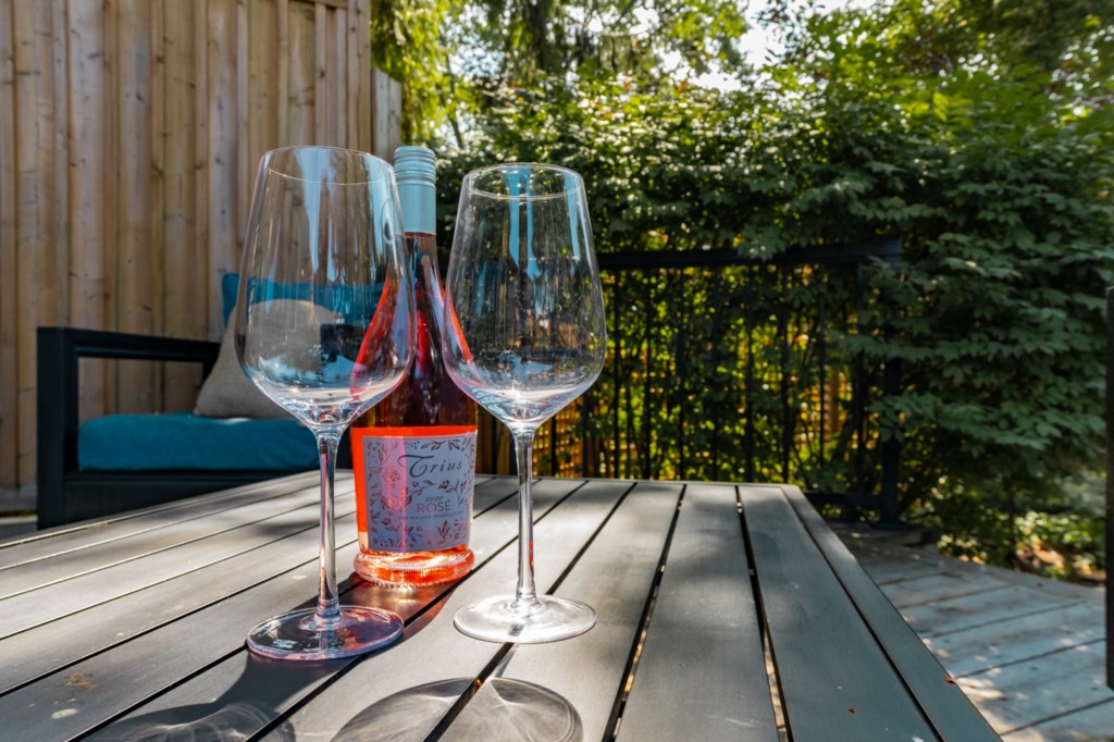 Take a tour at a local winery and pick up a bottle (or two) to enjoy on the deck - Niagara-on-the-La